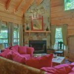 Divine Intervention Cabin Rental Living room