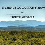 THINGS TO DO IN NORTH GEORGIA