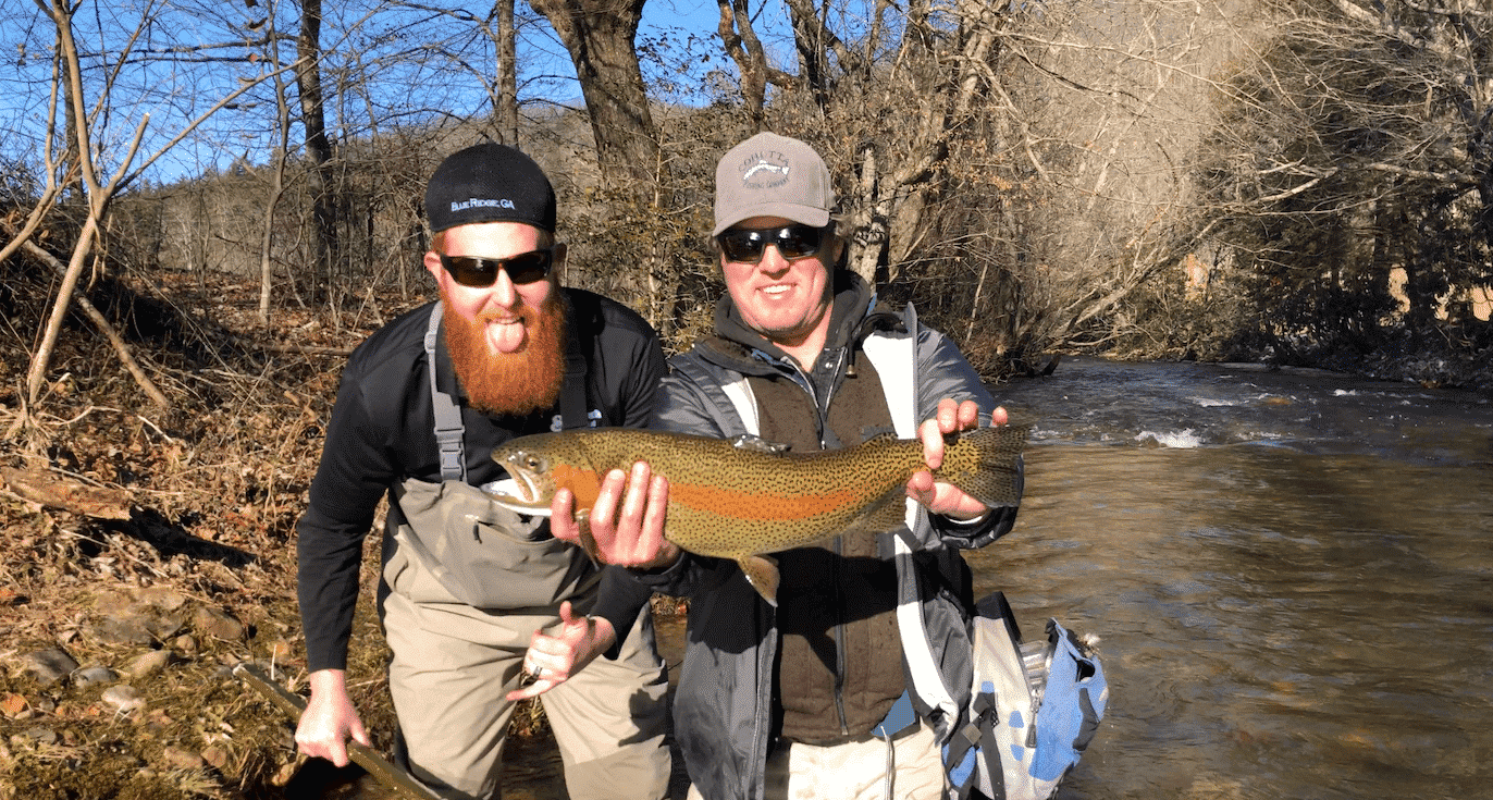 Rainbow Trout Fly Fishing North Georgia